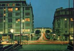 Conegliano Veneto - Treviso - Viale Stazione - Notturno - Formato Grande Viaggiata – E 9 - Treviso