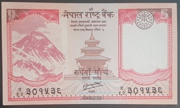 E11kb Banknote -  Nepal 5 Rupees, 2012, P-69, UNC - Moldawien (Moldau)