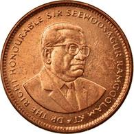 Monnaie, Mauritius, 5 Cents, 2010, TTB, Copper Plated Steel, KM:52 - Maurice