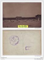 9546  POSTCARD AK CARTE PHOTO W.W.1 CAMP DE PRISONNIERS A SAGAN ZAGAN GROUPE SOLDATS EN EXERCICES - Polonia