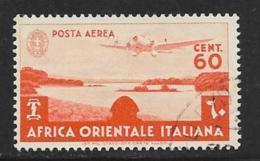 Italian East Africa Scott # C3 Used Lake Tsana, 1938 - Italian Eastern Africa