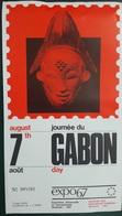 GABON 1967 ENCART FOLDER - JOURNEE DU GABON - GABON DAY - LIMITED EDITION - Gabon