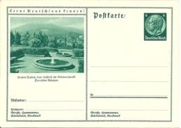 DR P 221 - 08 ** Bild Baden-Baden Paradies-Anlagen - Deutschland