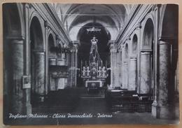 POGLIANO MILANESE (Milano) - Chiesa Parrocchiale - Interno -   Nv - Milano