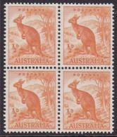 Australia 1949 Kangaroo No Wmk SG 228 Mint Never Hinged - 1937-52 George VI