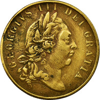 United Kingdom , Jeton, Georges IIII, 1797, TTB+, Laiton - United Kingdom