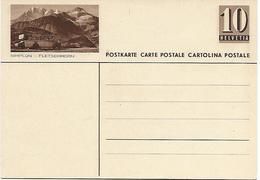 "5 - 31 - Entier Postal Neuf Avec Illustration ""Simpon - Fletschhorn"" - Entiers Postaux"