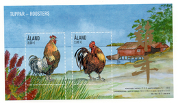 ALAND - B/F-M/S - ANNEE DU COQ - YEAR OF THE ROOSTER - COQ - ROOSTER - 2016 - - Aland