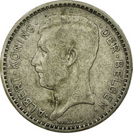 Monnaie, Belgique, 20 Francs, 20 Frank, 1934, TTB, Argent, KM:104.1 - 1934-1945: Leopold III