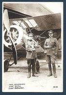 Armée Belge - Nos Aviateurs - Lt Ortha Et Lt Deburlet - Personaggi