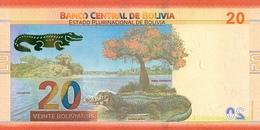 BOLIVIA P. NEW 20 R 2018 UNC - Bolivie