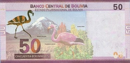 BOLIVIA P. NEW 50 R 2018 UNC - Bolivie