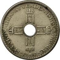 Monnaie, Norvège, Haakon VII, Krone, 1937, TB+, Copper-nickel, KM:385 - Norvège