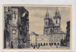 PRAGUE. LA PLACE DE LA VIEILLE VILLE. JKO. CIRCULEE 1939 CHECOSLOVAQUIA A PARIS- BLEUP - Postkaarten