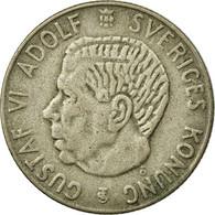 Monnaie, Suède, Gustaf VI, Krona, 1954, TTB, Argent, KM:826 - Suède