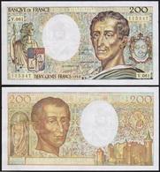 200 FRANCS 1988 FRANCE - Montesquieu - P155c (V.061) - 1962-1997 ''Francs''