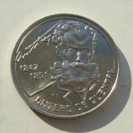 Lp AZORES - 1991 - 100 Esc. - Antero De Quental (Poet) - KM#46 (Krause Azores) = KM#664 (Krause Portugal) - Açores