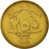 Monnaie, Lebanon, 250 Livres, 1996, TTB, Aluminum-Bronze, KM:36 - Liban