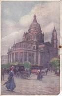 BUDAPEST BASILIKA ST STEFANSKIRCHE. BK. CIRCULEEE 1907. HUNGARY- BLEUP - Hongarije