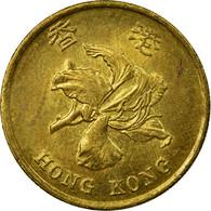 Monnaie, Hong Kong, Elizabeth II, 50 Cents, 1998, TTB, Brass Plated Steel, KM:68 - Hong Kong