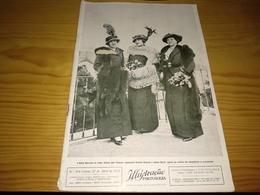 Revista Portuguesa, Magazine Portuguese- Ilustração Portuguesa,.- 1913 - Livres, BD, Revues