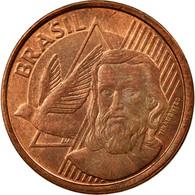 Monnaie, Brésil, 5 Centavos, 2011, TTB, Copper Plated Steel, KM:648 - Brésil
