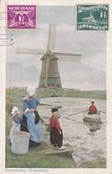 NEDERLAND. OVERZETVEER (VOLENDAM). D.B.M. CIRCULEE 1928 A ARGENTINE- BLEUP - Volendam