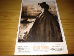 Revista Portuguesa, Magazine Portuguese- Ilustração Portuguesa,Capa Veneziana.- 1916 - Livres, BD, Revues