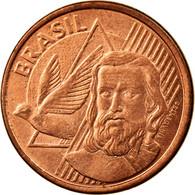 Monnaie, Brésil, 5 Centavos, 2012, TTB, Copper Plated Steel, KM:648 - Brésil