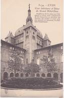 CPA - 5174. LYON Cour Intérieur Et Dôme Du Grand Hôtel Dieu - Lyon