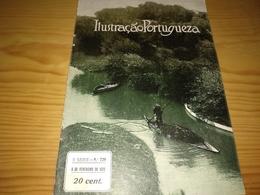 Revista Portuguesa, Magazine Portuguese- Ilustração Portuguesa,Capa - Barco Do Moliço (lagoa De Fermentelos).- 1920 - Livres, BD, Revues
