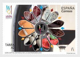 SPAIN, 2018, MNH, FOOD, LEON, GASTRONOMICAL CAPITAL OF SPAIN,1v - Food
