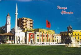 TIRANA ALBANIA. AEDITIONS. CIRCULEE 2014 A MOROCCO. ALBANIA SHQUIPERIA- BLEUP - Albanië