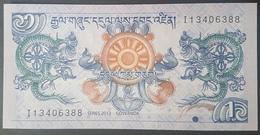 E11kb Banknote -  Buthan 1 Ngultrum Banknote 2013 P-27 UNC - Moldavie