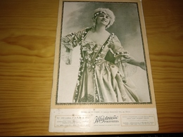 Revista Portuguesa, Magazine Portuguese- Ilustração Portuguesa,CAPA, Estrelas De Paris: A Cantora Genevieve.- 1912 - Revues & Journaux