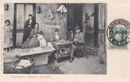 COSTUMBRES CHILENAS. ZAPATERO. CARLOS BRANDT. CIRCULEE  CIRCA 1906s FRANCE. CHILE-RARISIME-TBE- BLEUP - Chili
