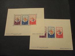 TUNISIA - 2 BF 1966 CARTOGRAFIA - NUOVI(++) - Tunisia (1956-...)