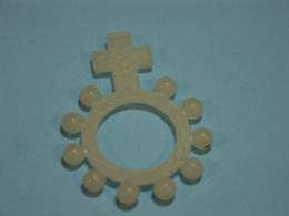 Chapelet, Rosary, Rosario - Dizainier Lumineux, En Plastique - Religion & Esotérisme