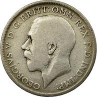 Monnaie, Grande-Bretagne, George V, Florin, Two Shillings, 1920, TB+, Argent - 1902-1971 : Monnaies Post-Victoriennes
