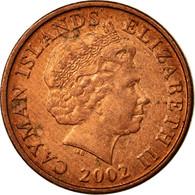 Monnaie, Îles Caïmans, Elizabeth II, Cent, 2002, TTB, Copper Plated Steel - Kaimaninseln