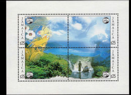 Jamaica 1994 Tourism Souvenir Sheet Unmounted Mint. - Jamaica (1962-...)