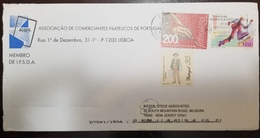 O) 1998 PORTUGAL, PORTUGUESE AS OFFICIAL LANGUAGE -HAND, SKATING -LUBRAPEX, CULTURE,  ASSOCIATION OF PHILATELIC MERCHANT - Portugal