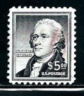 "Unitred States    ""Alexander Hamilktoin""            SC# 1053   Used   Scott 2019 Value $ 6.75 - Used Stamps"
