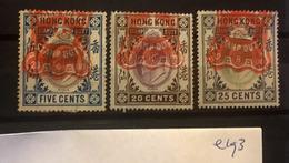 E193 Hong Kong Collection - Hong Kong (...-1997)