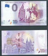 ESPAGNE SPANIEN SPAIN ESPAÑA 2018 SOUVENIR BILL FOR STAMPSHOW EXFILNA SEVILLA BILLETE SOUVENIR  - 0 EUROS - S / C - [ 6] Commemorative Issues
