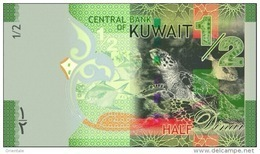 KUWAIT P. 30 1/2 D 2014 UNC - Kuwait