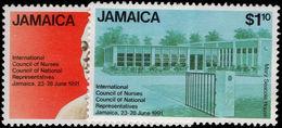 Jamaica 1991 Council Of Nurses Unmounted Mint. - Jamaica (1962-...)