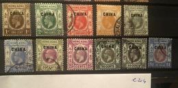 E204 Hong Kong Collection China - Gebruikt