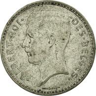 Monnaie, Belgique, 20 Francs, 20 Frank, 1934, TB+, Argent, KM:103.1 - 1934-1945: Leopold III