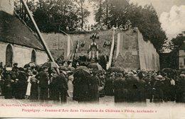 """80 - PICQUIGNY - Jeanne D'Arc Dans L'enceinte Du Château """"Fêtée, Acclamée"""" - Picquigny"""